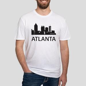 Atlanta Skyline Fitted T-Shirt