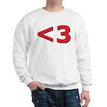 Less than 3 Sweatshirt