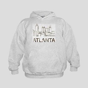 Vintage Atlanta Kids Hoodie