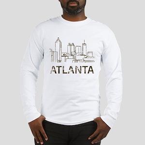 Vintage Atlanta Long Sleeve T-Shirt