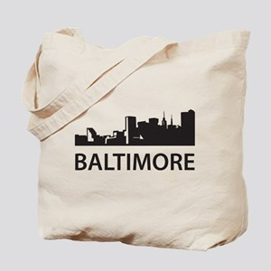 Baltimore Skyline Tote Bag