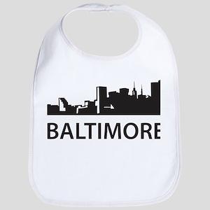Baltimore Skyline Bib