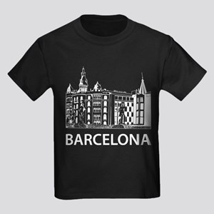 Barcelona Kids Dark T-Shirt