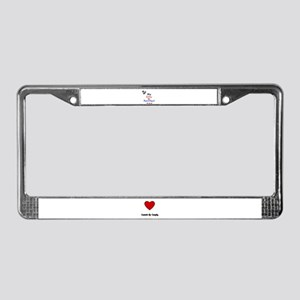 MY KITTY IS PURRRFECT License Plate Frame