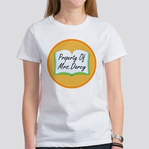 Colorful Property Of Mrs Darcy Women's T-Shirt