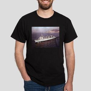 USS Seattle Ship's Image Dark T-Shirt