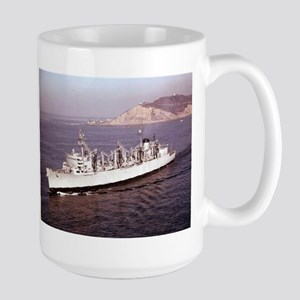 USS Seattle Ship's Image Large Mug