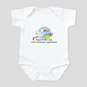 Stork Baby Ukraine USA Infant Bodysuit