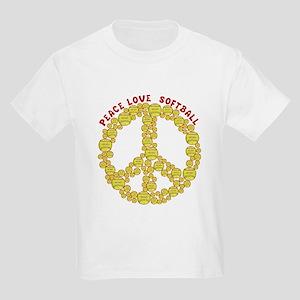 peacelovesoftballw T-Shirt