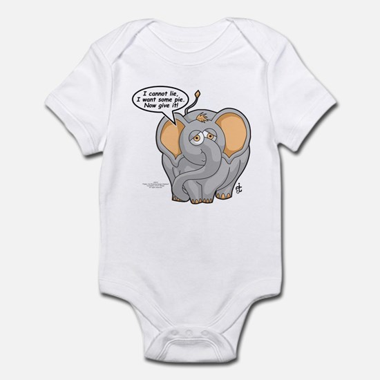 Tubbs - Give Me Pie! Infant Bodysuit