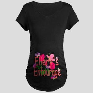 Ellery's Entourage Maternity Dark T-Shirt