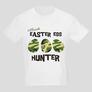 Easter Egg Hunter Kids Light T-Shirt
