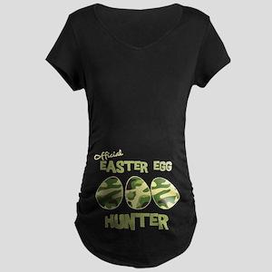 Easter Egg Hunter Maternity Dark T-Shirt