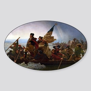 Washington Crossing the Delaware E Gottlie Sticker