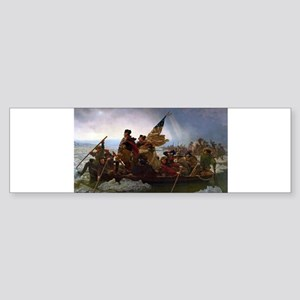 Washington Crossing the Delaware E Bumper Sticker