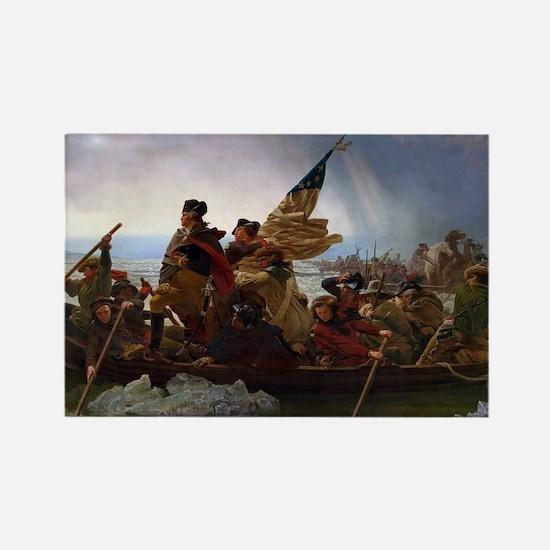 Washington Crossing the Delaware E Gottlie Magnets