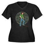 Swiftriver Women's Plus Size V-Neck T-Shirt