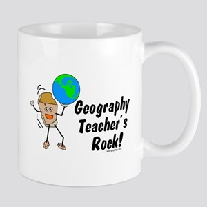 Geography Teacher's Rock Mug