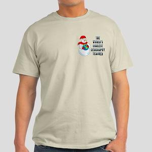 Cool Geography Teacher Light T-Shirt