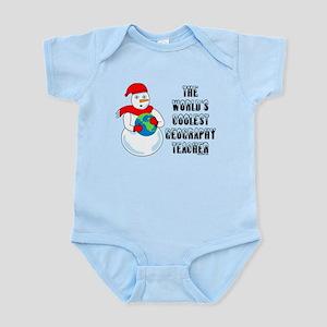 Cool Geography Teache Infant Bodysuit