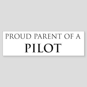 Proud Parent: Pilot Bumper Sticker