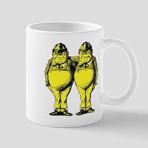 Tweedle Twins Yellow Mug