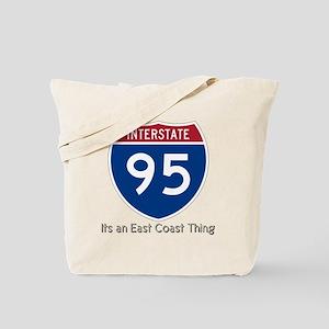 Highway 95 Tote Bag