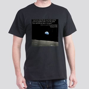 Earth Space Inspirational Dark T-Shirt