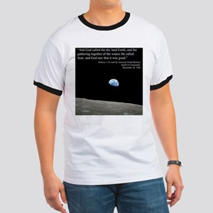 Earth Space Inspirational Ringer T