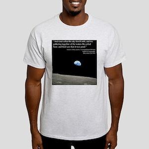 Earth Space Inspirational Light T-Shirt