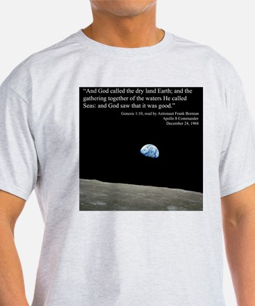 Earth Space Inspirational T-Shirt