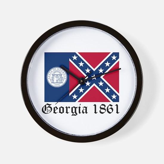 Secede Georgia Wall Clock
