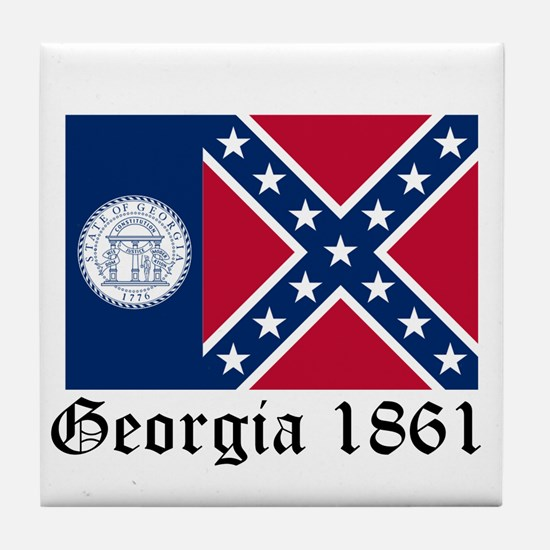 Secede Georgia Tile Coaster