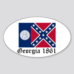 Secede Georgia Sticker (Oval)