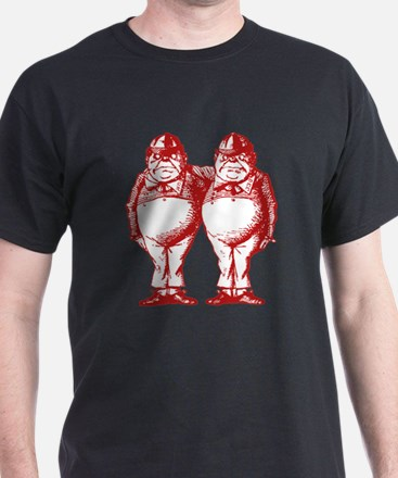 Tweedle Twins Red T-Shirt