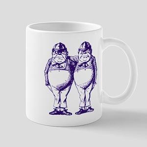 Tweedle Twins Purple Mug