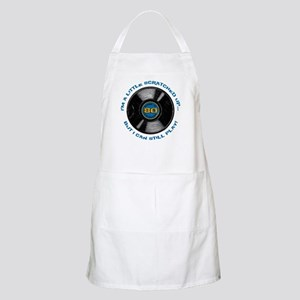 Scratched Record 80th Birthday Apron