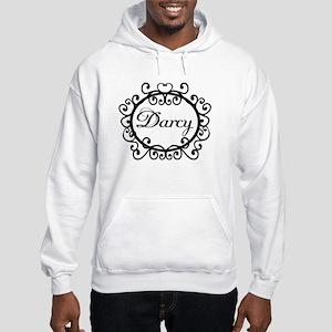 Darcy Jane Austen Fan Hooded Sweatshirt