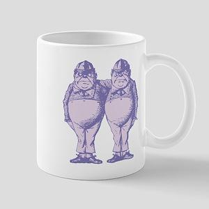 Tweedle Twins Lavender Mug