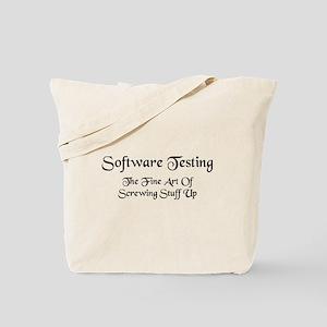 Software Testing Tote Bag