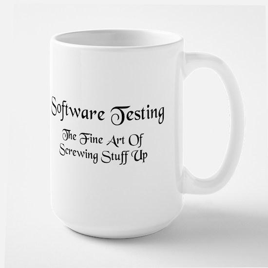 Software Testing Large Mug