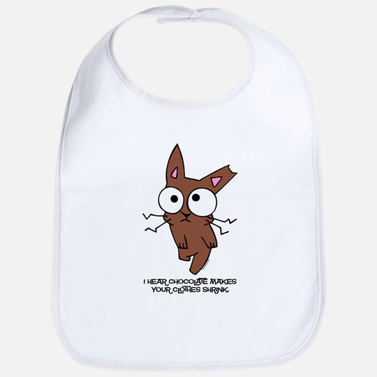 Chocolate Bunny Shrink Bib