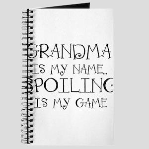 Grandma is my name Journal