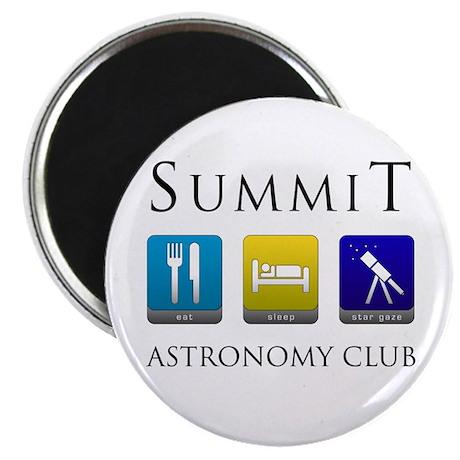 "Summit Astronomy Club - Stargaze 2.25"" Magnet (10"