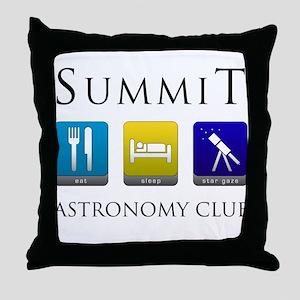 Summit Astronomy Club - Stargaze Throw Pillow