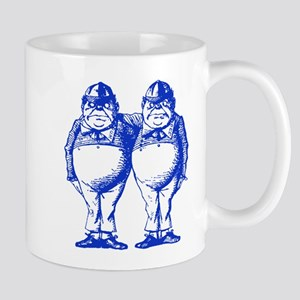 Tweedle Twins Blue Mug