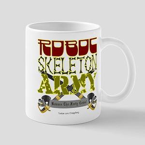 Robot Skeleton Army Mug