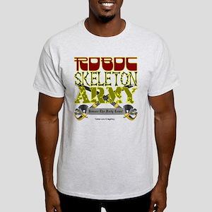 Robot Skeleton Army Light T-Shirt