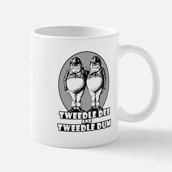 Tweedle Twins Logo Mug