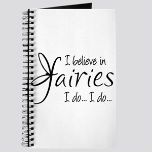 I believe in fairies Journal